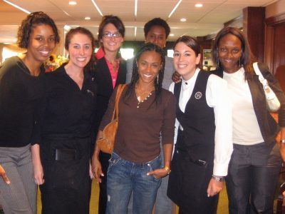 The Radnor Hotel staff welcomed Jada Pinkett Smith to the hotel in July 2006.