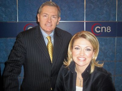 Lou Prevost of The Radnor Hotel appears on CNN Headline News/Comcast Newsmakers, February 16-23, 2007, with host Jen Boyett in support of Pennsylvania's Clean Air Act.