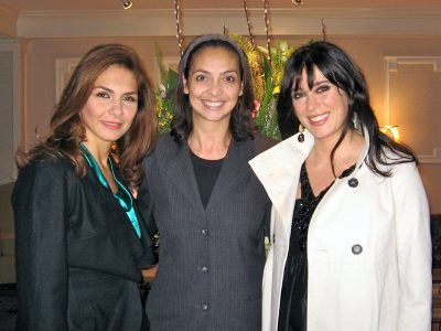 Nadine Labaki & Mayada al-Hiraki visit The Radnor Hotel