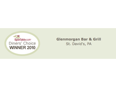 Opentable.com Diners' Choice Winner 2010