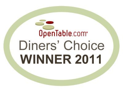 Open Table Diners' Choice 2011