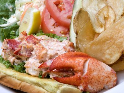 Glenmorgan's Main Line Lobster Roll
