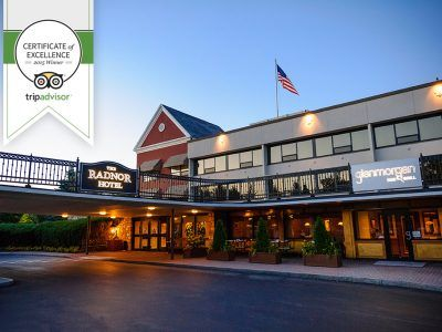 TripAdvisor Certificate of Excellence 2015, The Radnor Hotel