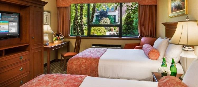 Double Guest Room at The Radnor Hotel