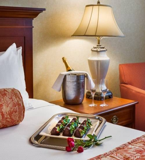 Upgrade Your Stay at The Radnor Hotel