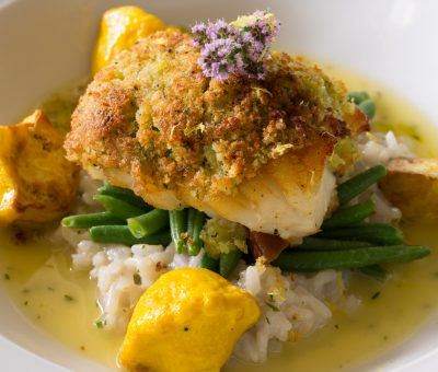 Citrus & Herb Crusted Barramundi