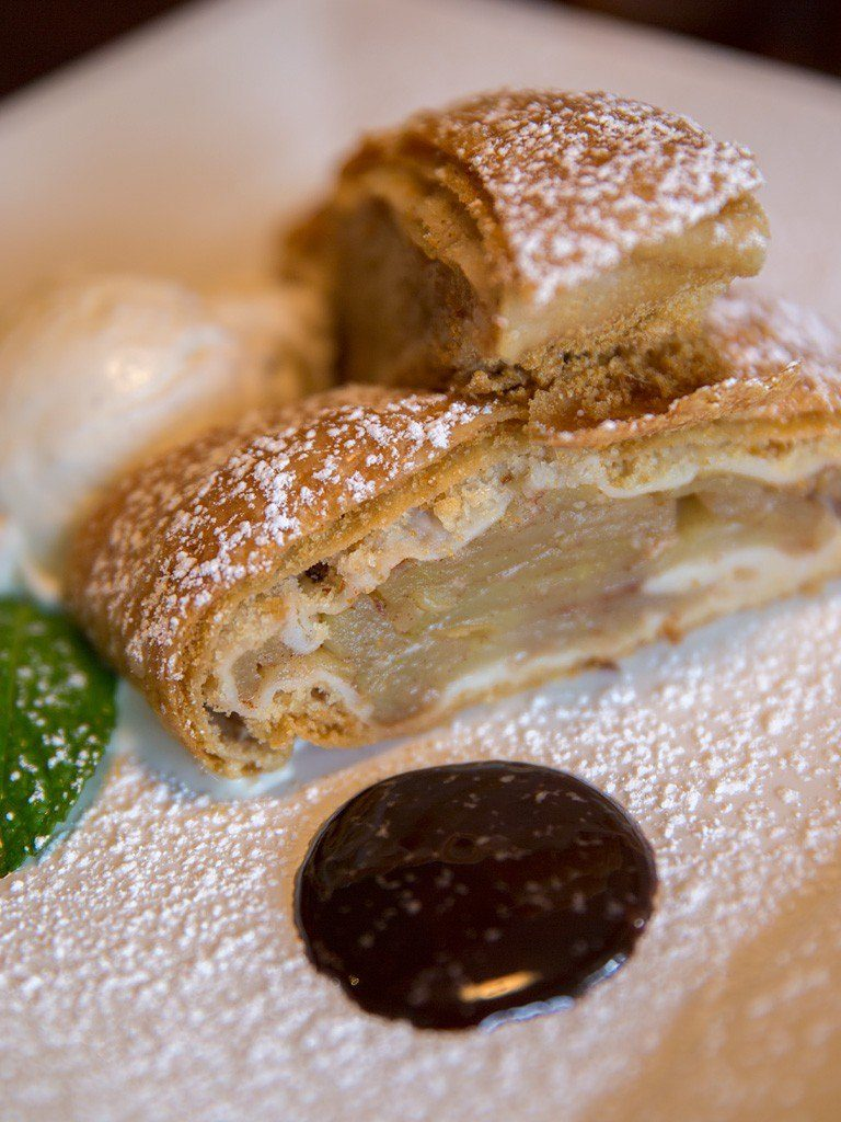 Apple Strudel at Glenmorgan Bar & Grill