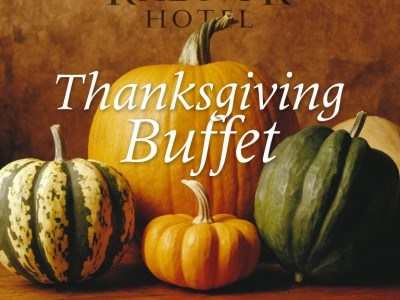 Thanksgiving Buffet at The Radnor Hotel
