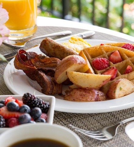 Champagne Sunday Brunch at The Radnor Hotel