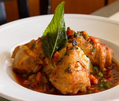 Braised Chicken Osso Buco at Glenmorgan Bar & Grill