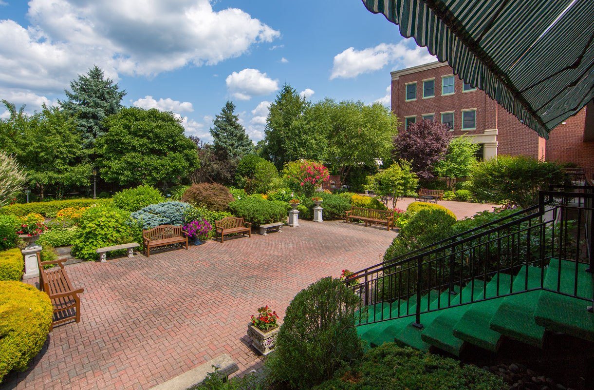 The Award-Winning Formal Gardens at The Radnor Hotel