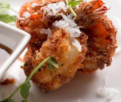 Coconut Crusted Jumbo Shrimp