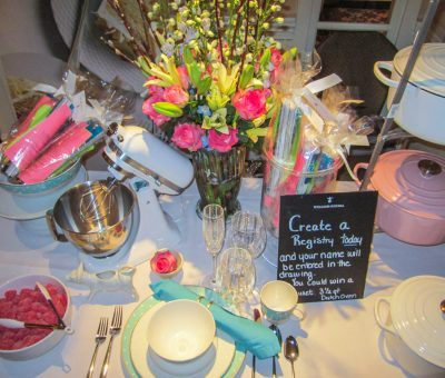 Williams Sonoma in King of Prussia presented their registry at the Main Line Bridal Event