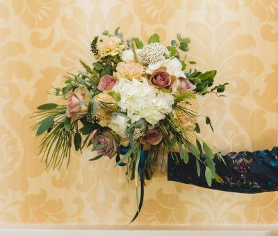 Beautiful Bouquet by Kati Mac Floral Designs at the Main Line Bridal Event
