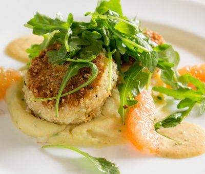 Pan Seared Lump Crab Cakes