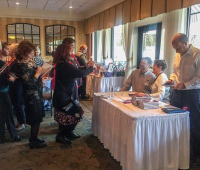 Lisa Thomas-Laury's book signing at The Radnor Hotel
