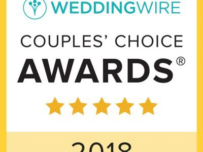 2018 WeddingWire Couples' Choice Awards® Winner