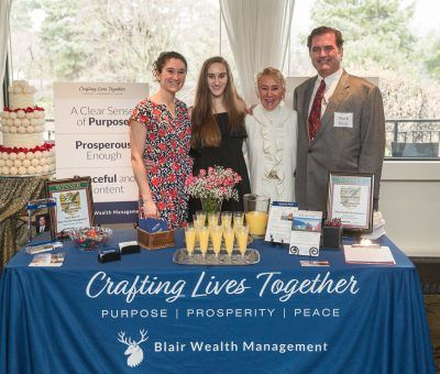 Blair Wealth Management at the Main Line Bridal Event