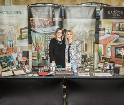 Meghan Sullivan, Private Events Sales Manager at Paramour, and Dawn Gannon, Wedding Sales Manager at The Radnor Hotel
