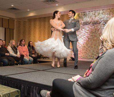Dancers from Fred Astaire Wayne at the Main Line Bridal Event