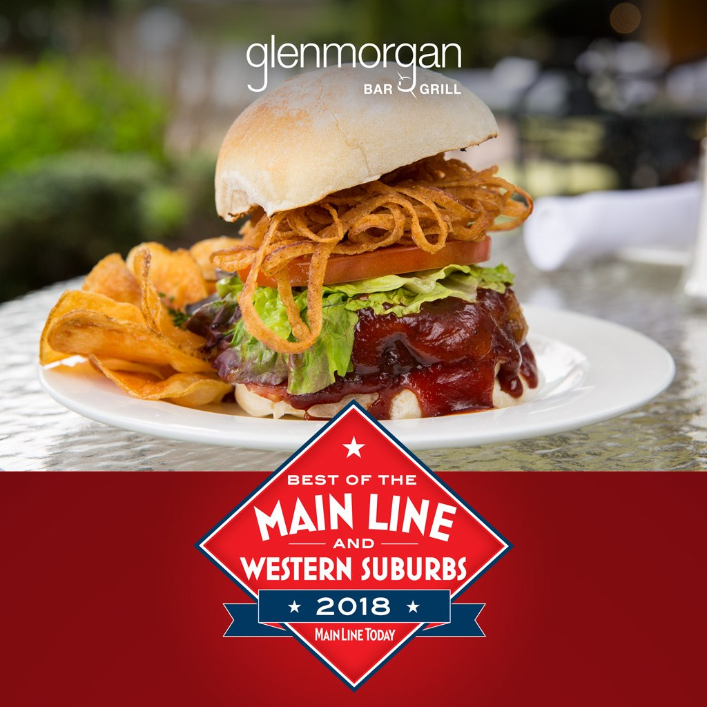 Main Line Today Best of the Main Line & Western Suburbs 2018, Best Burger, Glenmorgan Bar & Grill