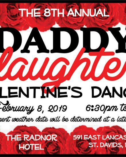 The 8th Annual Daddy Daughter Valentine's Dance at The Radnor