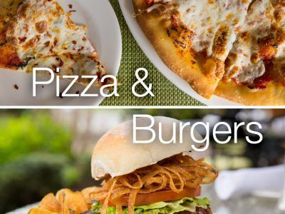 Half-Price Pizza & Burgers