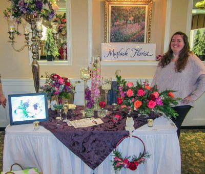 Matlack Florist at the Main Line Bridal Event 2019