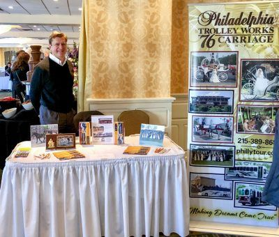 Philadelphia Trolley Works at the Main Line Bridal Event 2019