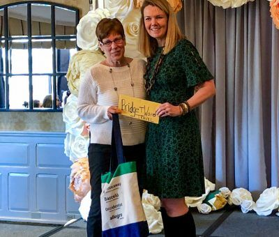Winner of the Grand Prize Getaway with Bridget Ward Travel at the Main Line Bridal Event 2019