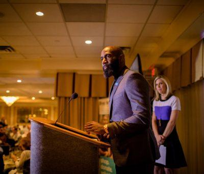 Malcolm Jenkins at the Habitat for Humanity of Montgomery and Delaware Counties 30th Anniversary Gala