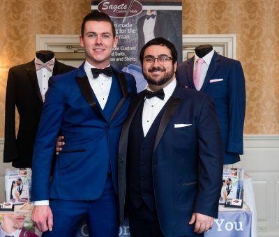 Sagets Formal Wear at the Main Line Bridal Event 2020