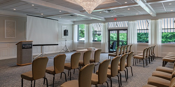 Private Events & Meetings at The Radnor Hotel