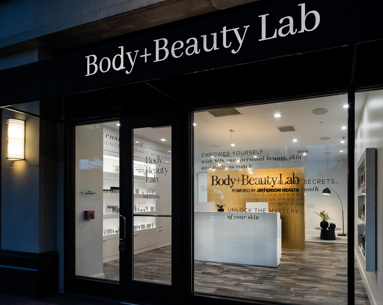 Body+Beauty Lab at The Radnor Hotel